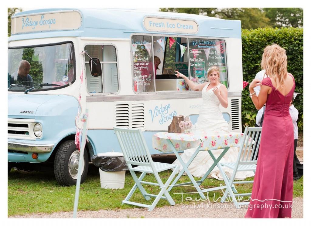 furgone gelati matrimonio