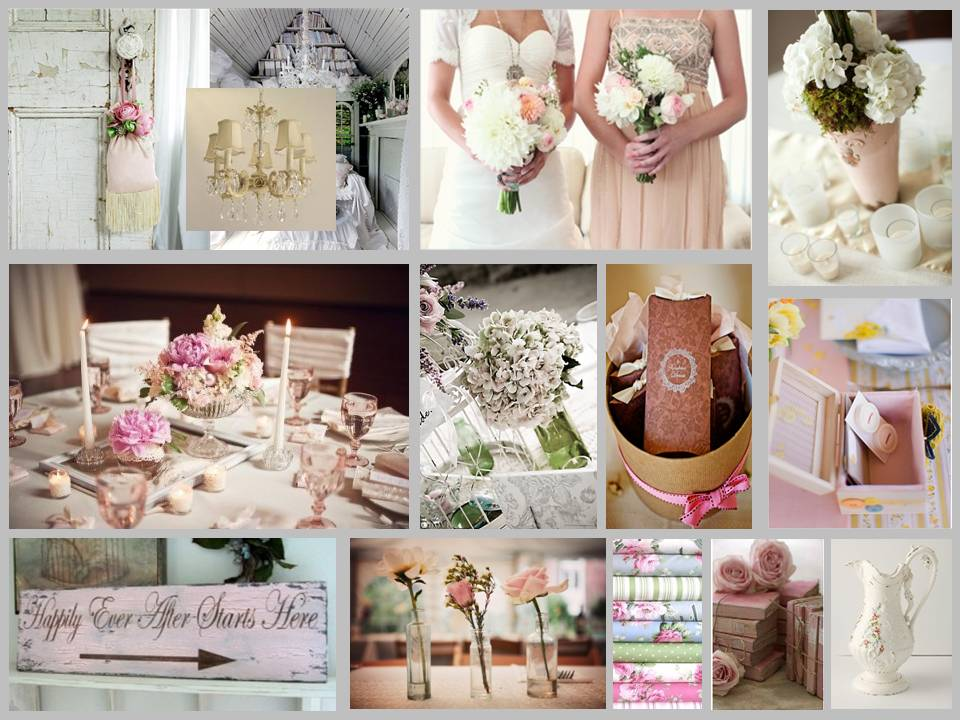 Decoracion de interiores estilo shabby chic